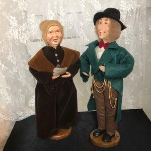 Pair of Victorian Carollers
